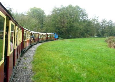 Longleat Safari Park - pociąg