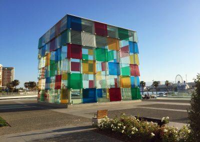 Centrum Kulturalne Pompidou George'a Pompidou w Maladze