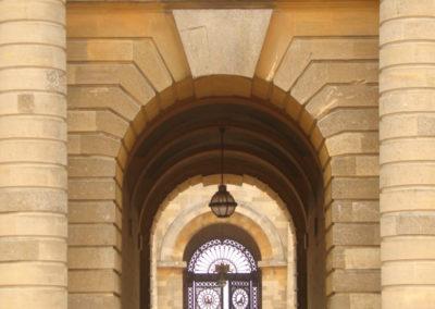 Wejście do Blenheim Palace