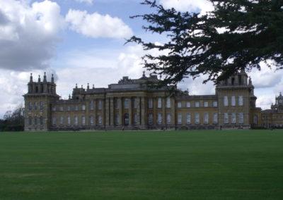 Blenheim Palace - tylnia fasada