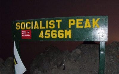 Mt Meru na rozgrzewkę