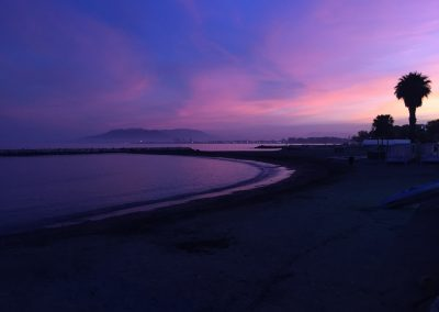 Zachód słońca w Las Acacias