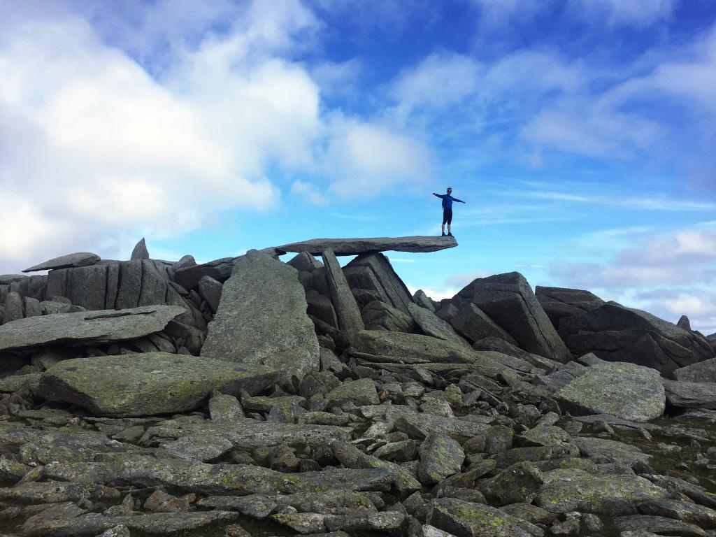 Najbardziej obfotografowany kamienny wspornik na świecie!