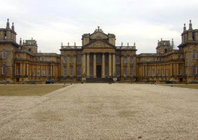 Widok na częśc główną Blenheim Palace