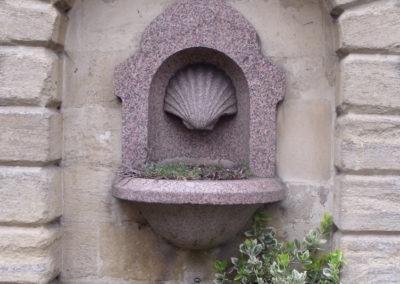 Fontanna w Blenheim Palace