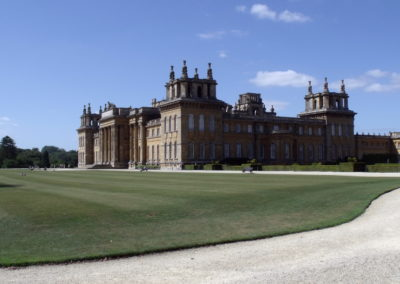 Blenheim Palace z tyłu